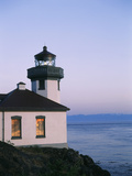 Lime Kiln Lighthouse, San Juan Island, Washington State, USA Photographic Print by Stuart Westmorland