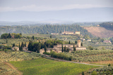 The Countryside Outside San Gimignano, Tuscany, Italy Photographic Print by Roberto Gerometta