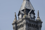 Historic Erie County Hall and Clock Tower, Buffalo, New York, USA Photographic Print by Cindy Miller Hopkins