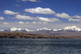 Bolivia, Lake Titicaca, Scenic Mountains Photographic Print by Kymri Wilt