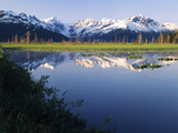Turnagain Arm, View of Chugach Mountains, Alaska, USA Photographic Print by Stuart Westmorland