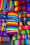 Textile Souvenirs in Market, Sacatepequez, Santiago, Guatemala Photographic Print by Michael DeFreitas