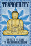Buddha Tranquility Poster Affiches