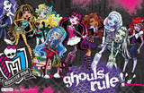 Monster High Ghouls Rule Poster Poster