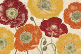 A Poppy's Touch I Spice Prints by Daphne Brissonnet
