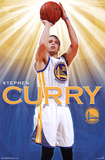 Stephen Curry - Golden State Warriors Basketball Poster Poster