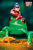 What's Up - Five Colorful Tree Frogs Poster Prints