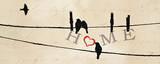 Bird at Heart I Plakat
