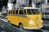 Volkswagen Bus New York City Taxi Poster Posters