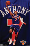 Carmelo Anthony New York Knicks Sports Poster Posters