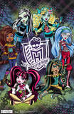 Monster High Group Poster Print