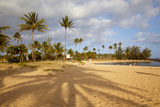 Poipu Beach Park, Poipu, Kauai, Hawaii, USA Photographic Print by Douglas Peebles