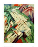 The Stony Path Prints by Franz Marc