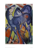 The Blue Foals 1913 Giclee Print by Franz Marc