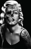 Daygirl Skull Face Poster Prints