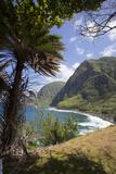 Kalaupapa Peninsula, Molokai, Hawaii, USA Photographic Print by Douglas Peebles