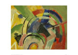 Small composition IV Giclee Print by Franz Marc