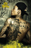 Wiz Khalifa Tattoo Music Poster Prints