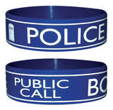 Doctor Who (Police Box) Wristband   Wristband
