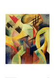 Small composition I Giclee Print by Franz Marc