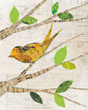 Birds in Spring II Print by Courtney Prahl