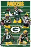 Green Bay Packers Team Sports Poster Plakater