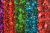 Strings of Colorful Costume Craft Beads, Savannah, Georgia, USA Photographic Print by Joanne Wells