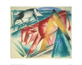 Animals Giclee Print by Franz Marc
