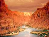 Grand Canyon at Sunset Art