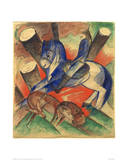 Saint Julian Giclee Print by Franz Marc