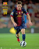 FC Barcelone - Lionel Messi Affiches