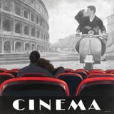 Cinema Roma Poster von Marco Fabiano