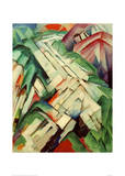 The Stony Path Giclee Print by Franz Marc