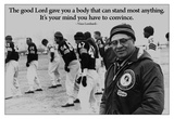 Vince Lombardi Motivational Quote Poster Poster