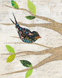 Birds in Spring III Prints by Courtney Prahl