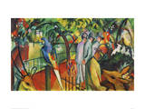 Zoological Garden I Giclee Print by Franz Marc