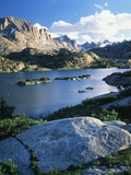 Bridger Wilderness with Island Lake, Wyoming, USA Photographic Print by Scott T. Smith