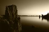 Tufa Rock Formation at Dawn in Mono Lake, Eastern Sierra, California, USA Photographic Print by Inger Hogstrom