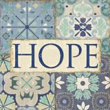 Santorini II - Hope Prints by  Pela