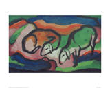 Sheep Giclee Print by Franz Marc
