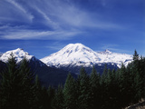 View of Mt Rainier National Park, Washington, USA Photographic Print by Paul Souders