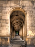 Archway through Manchester, England Láminas por Robin Whalley
