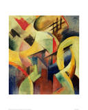 Small composition I Impression giclée par Franz Marc