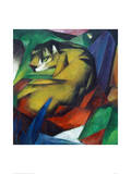 The Tiger 1912 Impression giclée par Franz Marc