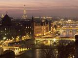 パリの橋 高品質プリント