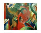 Small Composition III Giclee Print by Franz Marc
