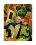 Small Composition II Giclee Print by Franz Marc