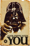 Star Wars Your Empire Needs You Movie Poster Photo