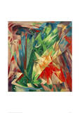 Birds Giclee Print by Franz Marc
