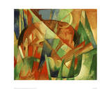 Mythical Creature II Giclee Print by Franz Marc